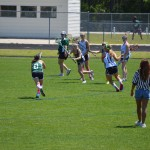 Brooke making one of her four last game goals