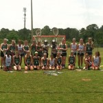 PAL girls lacrosse team