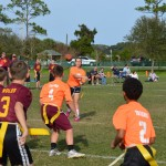 Brooke Reed Sports, Brooke Reed, Sebastian middle school, st. johns PAL flag football, st. augustine PAL, flag football, girl quarterbacks