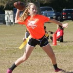Brooke Reed sports, brooke reed, girl quarterback, best girl quarterback, st. johns county pal, st. johns county Police Athletic League, flag football